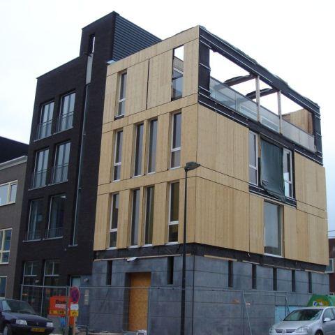 Woonhuis IJburg complete fundering met begane grond vloer.